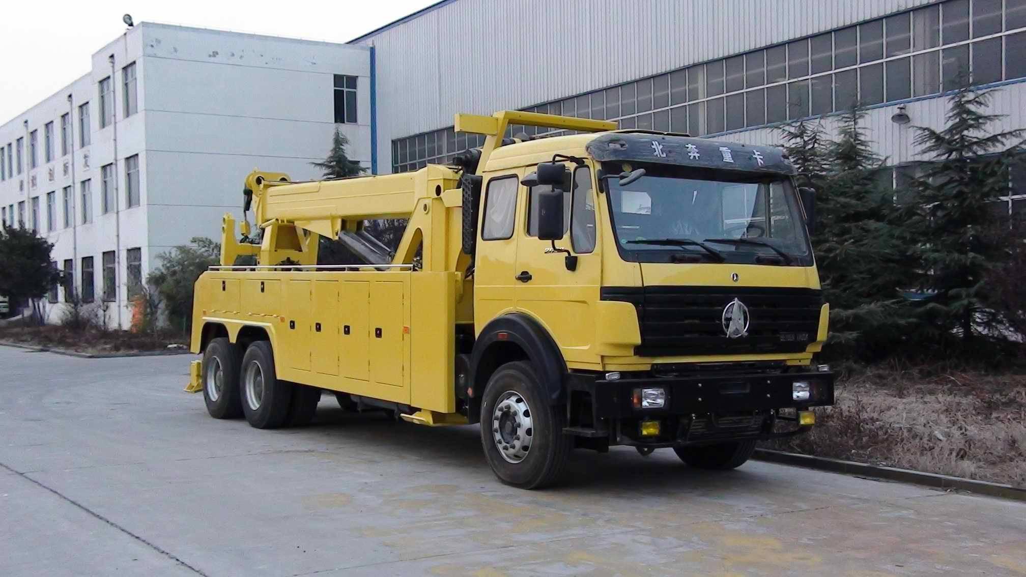 Beiben tow truck 6x4, emergency truck, North Benz, Mercedes-Benz technology