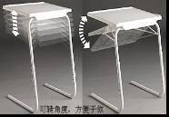 Portable Folding Metal Plastic Table