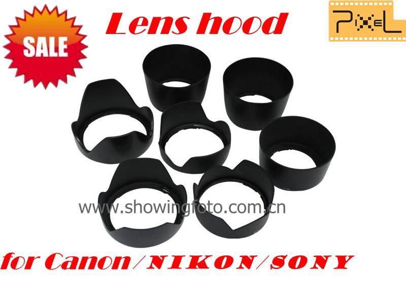 Pixel lens hood for Canon/Sony/Nikon DSLR camera promotion now~~