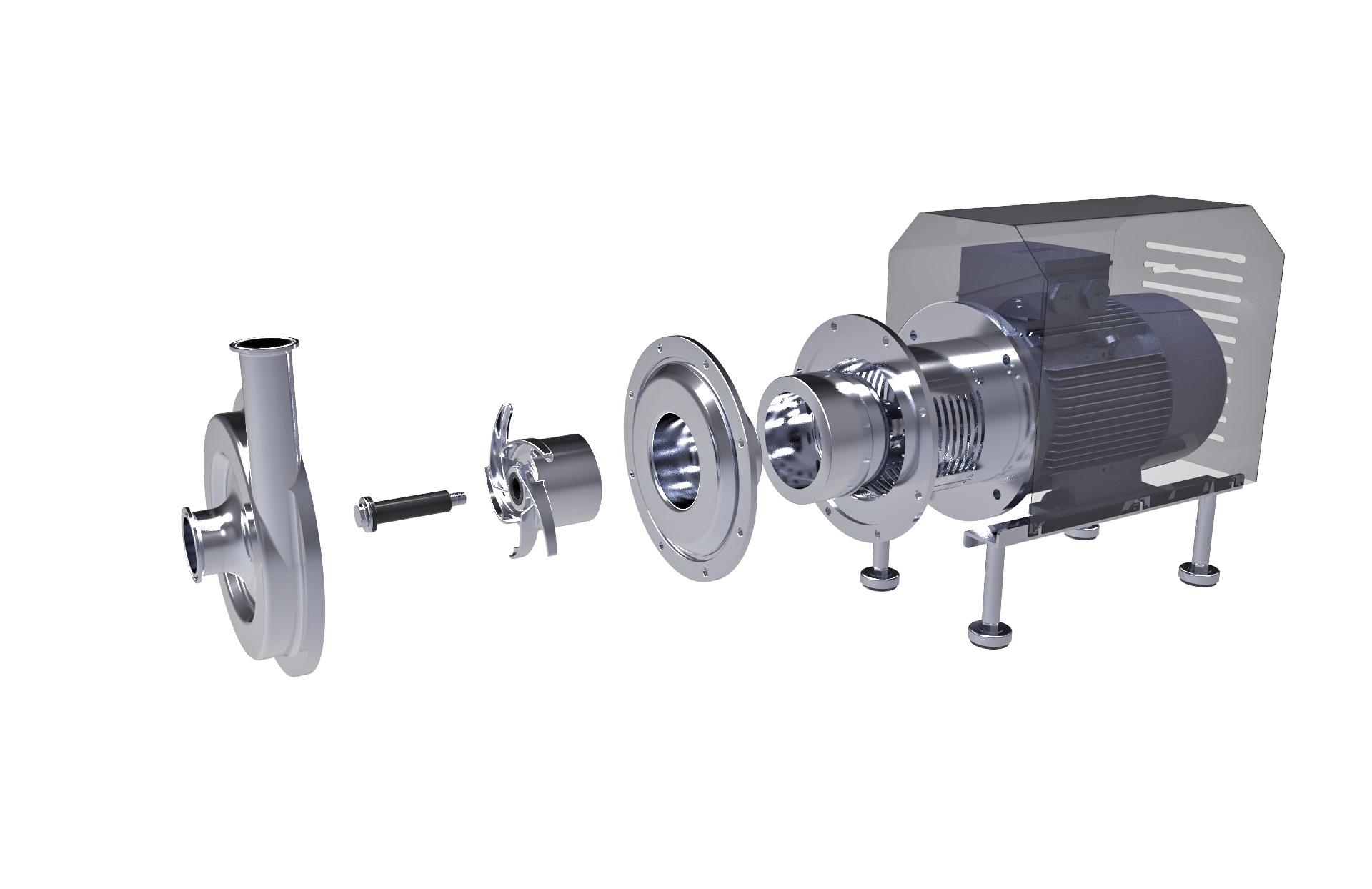 SEDNA ENG Magnetic Centrifugal Pump - SSP