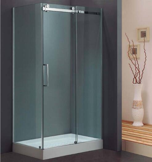 L-Shape Stainless Steel Sliding Corner Shower Door (Kt8115)