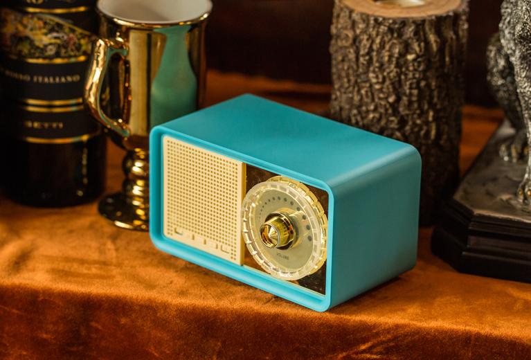 OKA MY100BT Retro Bluetooth Speaker with FM
