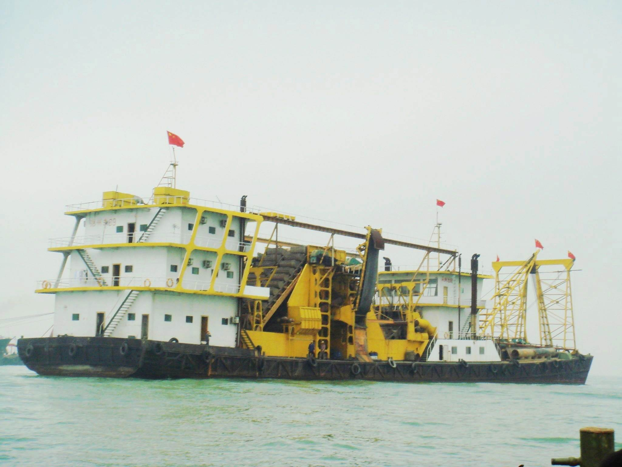 2500cbm/h SUCTION SAND VESSEL