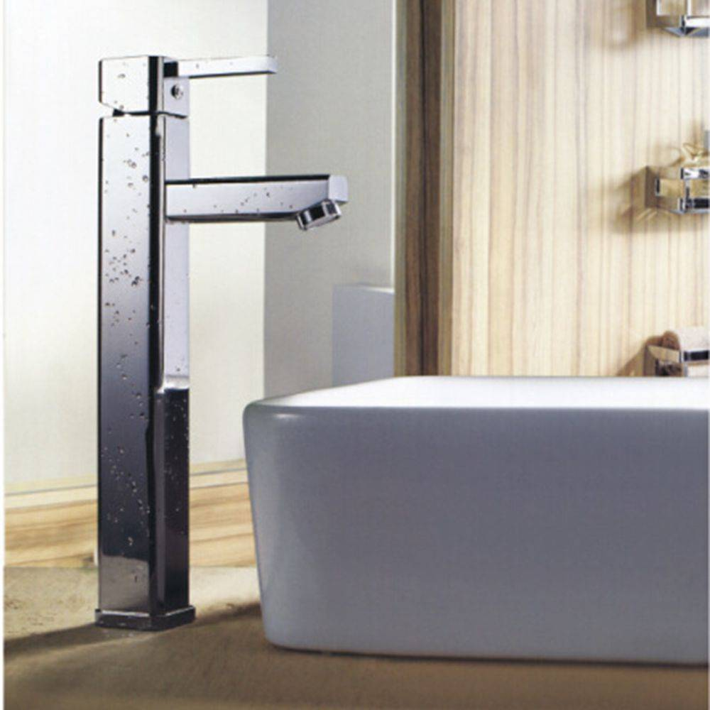Bathroom single lever wash basin water tap