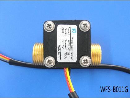 High temperature resistant all copper water flow sensor WFS-B011G