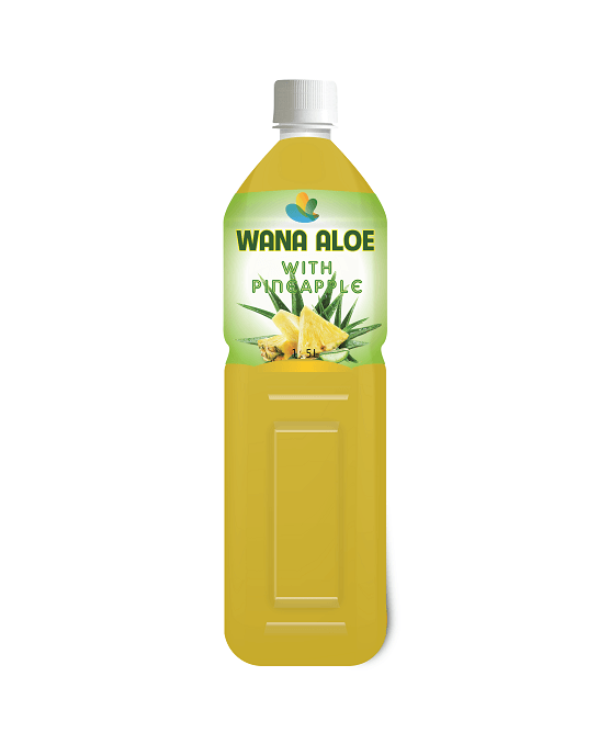 Tropical Aloe Vera Drink With Pineapple PET Bottle 1.5L
