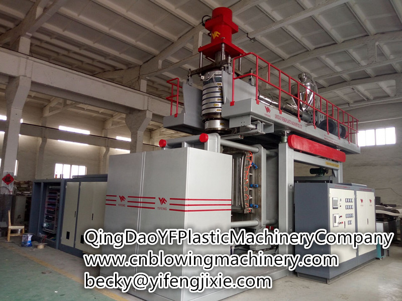 5000L water tank blowing molding machine