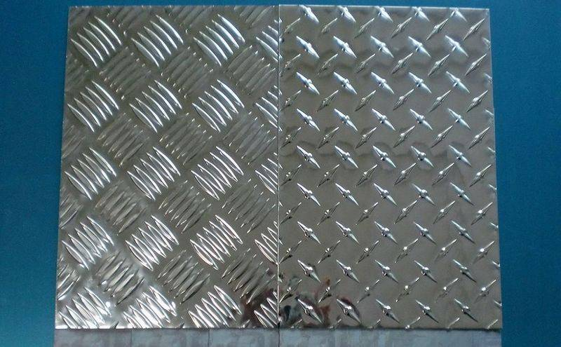 Five tears type aluminum sheet /  aluminum tread plate