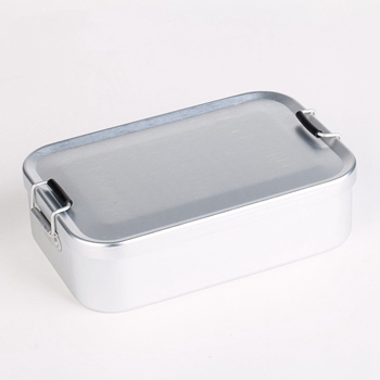 High quality aluminum take away lunch kit