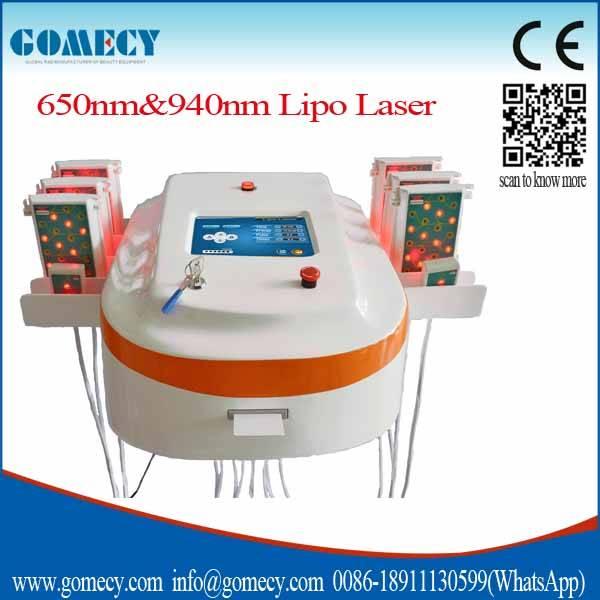 2016 New arrival Non-invasive Fat Reduction lipo laser/cool laser machines/4d lipo laser