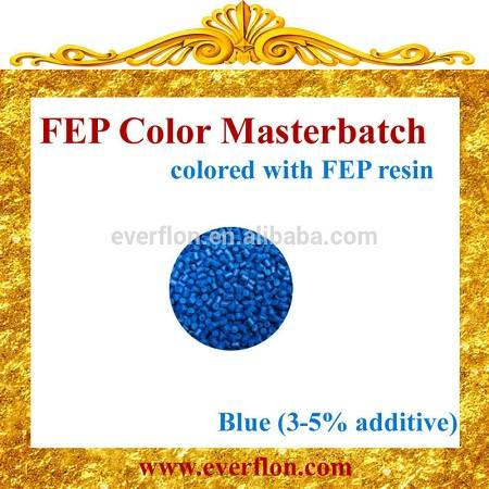 FEP Blue Color Masterbatch