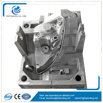 Automotive plastic injection mould LED front light molding mold maker high quality tooling