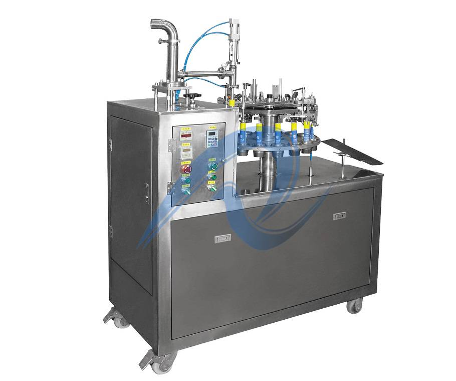 automatic sealant filling and sealing machine for aluminum tube