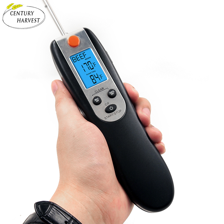 Wireless Remote Bbq Grill Thermometer digital thermometer with time alarm