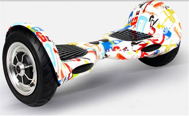 2016 new design 10 inch Two Wheels Self balance board electric with Bluetooth speaker .
