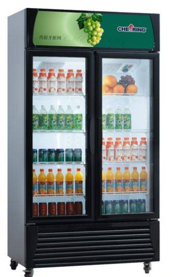 Vertical Showcase Cooler