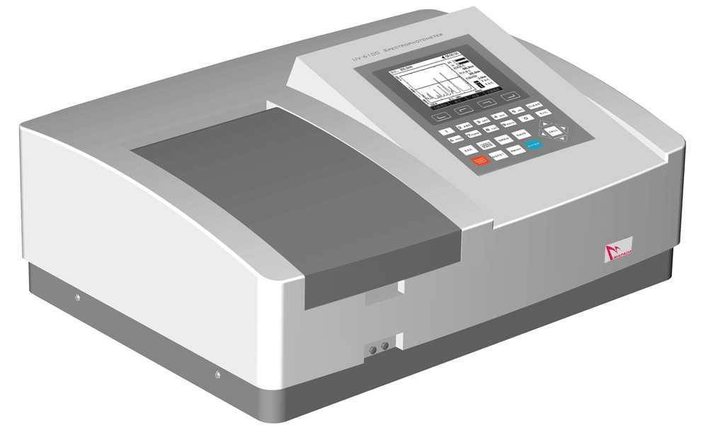 UV-6100 vis Double Beam Spectrophotometer factory direct supply
