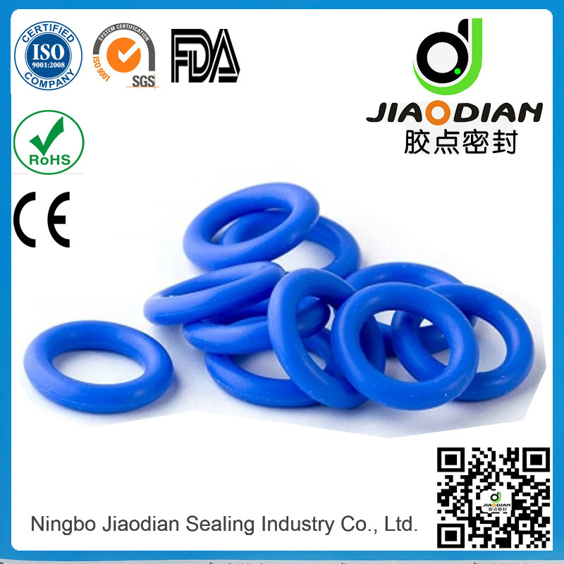 Blue Viton O Rings for Mechanical Sealing with SGS RoHS FDA Certificates As568-JIS2401-ISO3601 (O-RI