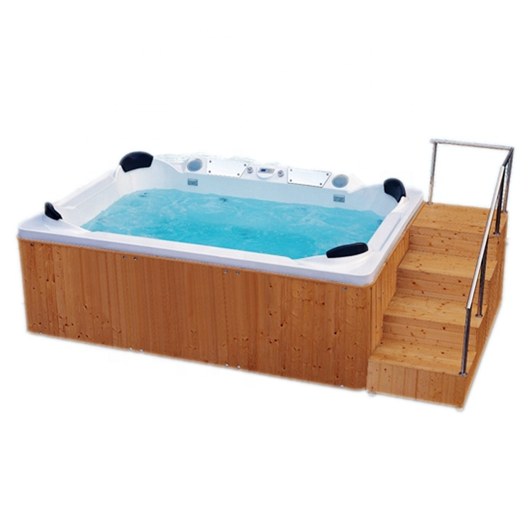4 person outdoor whirlpool spa Hot tub