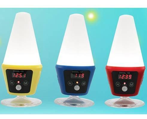 SMART SENSOR LAMP100 - Solar LED Lamp with Automatic Motion Sensor