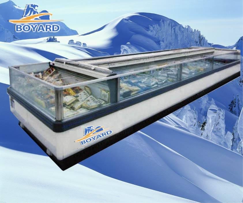 Supermarket Island Freezer DL16