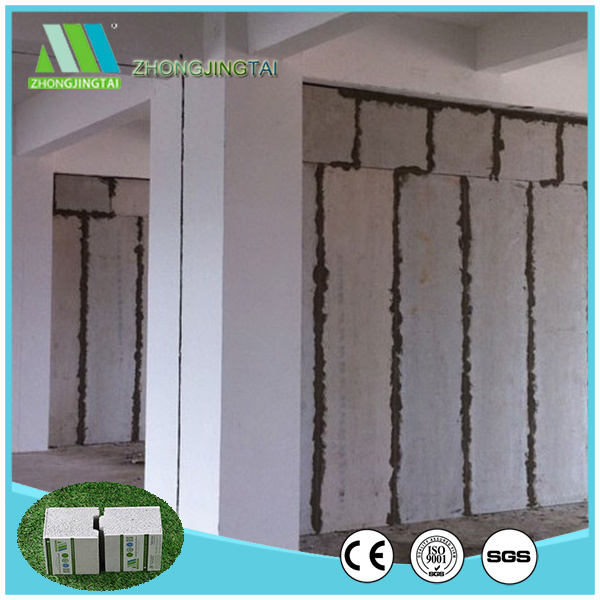 Environment-protect High Quality Heat Insulation EPS Cement Sandwich Panel Prefab House