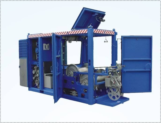 Oil well logging tool container