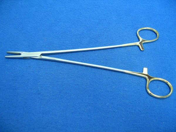 TC DEBAKEY NEEDLE HOLDER 9IN