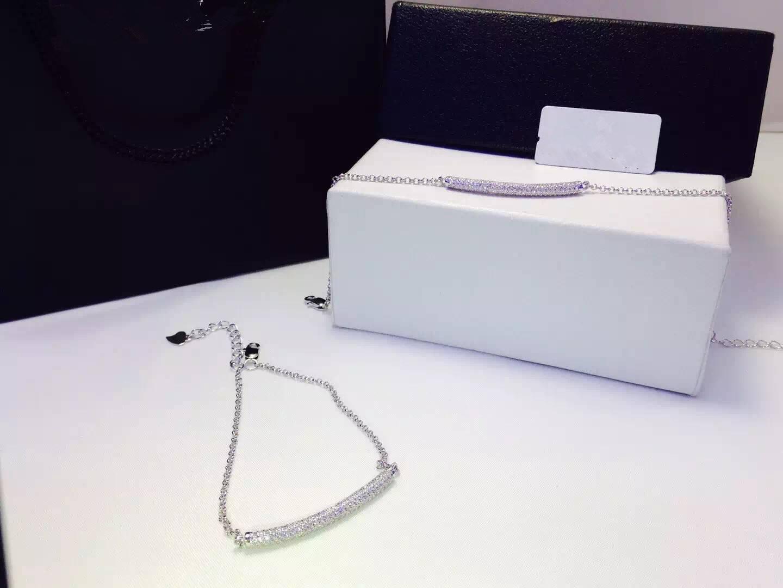 NEFFLY 2016 NEW ARRIVAL 925 silver plated 18K gold Bracelet