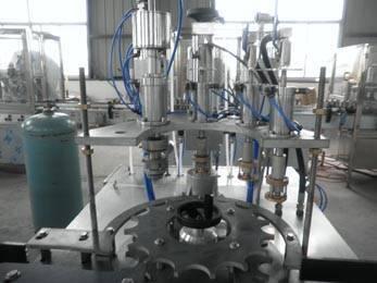 aerosol filling machinery