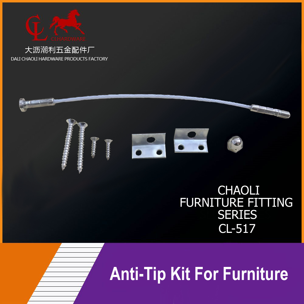 Furniture Anti-Tip Kits CL-517