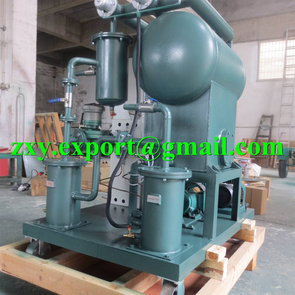 Portable Insulating Oil Purifying Plant, Transformer Oil Filtering Unit