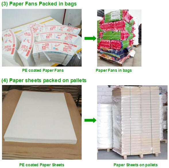 paper cup fan