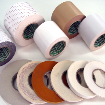 DOUBLE SIDE COATED ADHESIVE TAPE (NON-WOVEN TYPE, FILM TYPE)