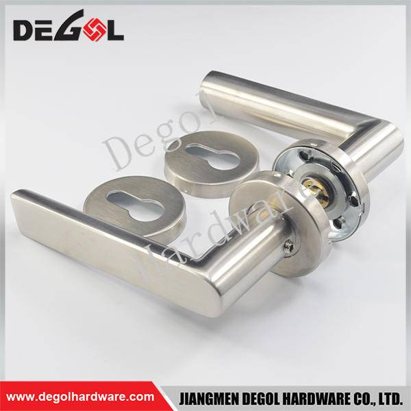 Latest stainless steel residential 135mm door handle