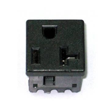NEMA 5-20R US snap-in Socket