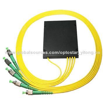 PLC Splitter 1x4 Splitter/Coupler, High-reliability