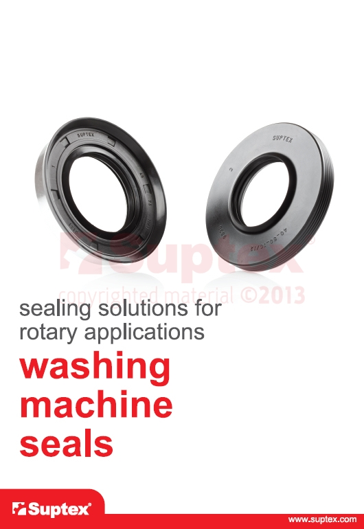 Washing machine seals