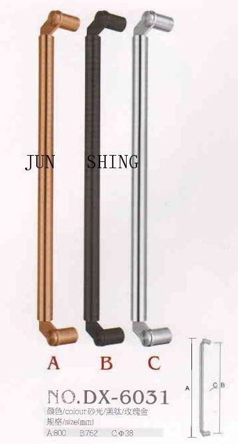 Stainless steel glass door pull long handle dx-6031