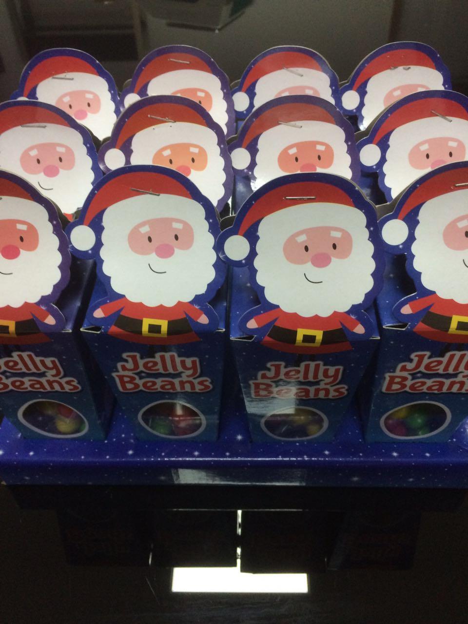 Jelly Bean In Santa Claus