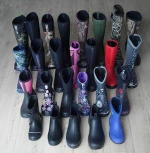 Neoprene Rain Boots, Neoprene Boots, Camo Neoprene Rubber Boots