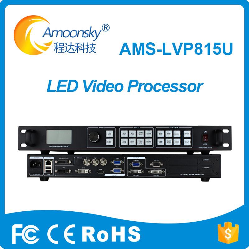 new design factory price led display usb video processor multi channel video wall processor lvp815u