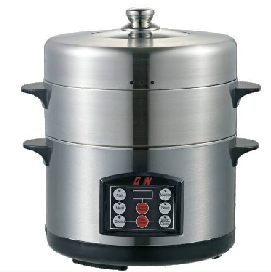 Model#QZ-SYW-26A 2-tier stainless steel food steamer