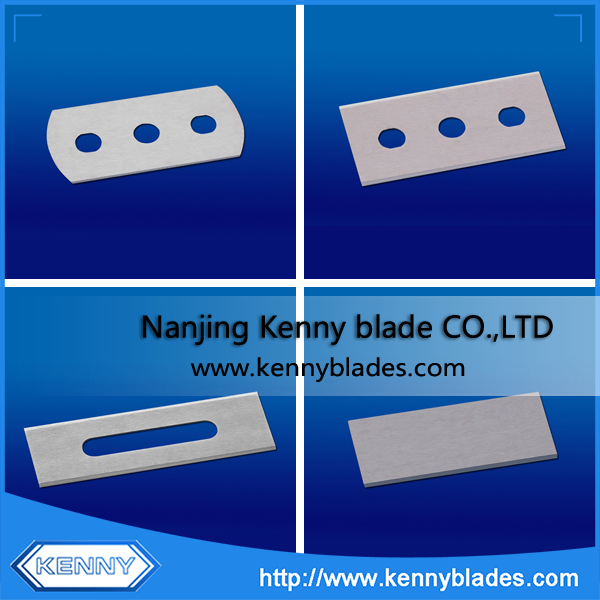 Replacement Oblong Blades For Cutting Film And Paper