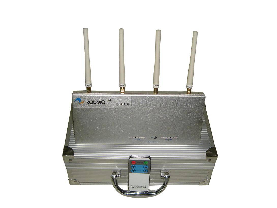 small power cell phone jammer P-4421H