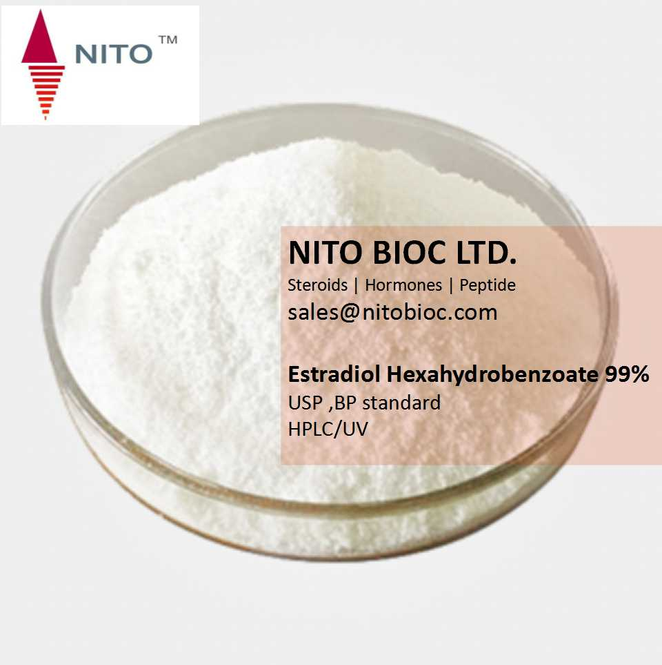 Hot Sell Strong Steroid Powder: Estradiol Hexahydro benzoate with CAS NO:15140-27-9
