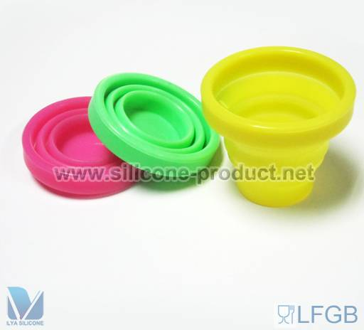 flexible silicone cup