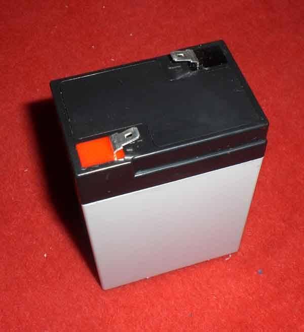 6V4AH lead acid battery