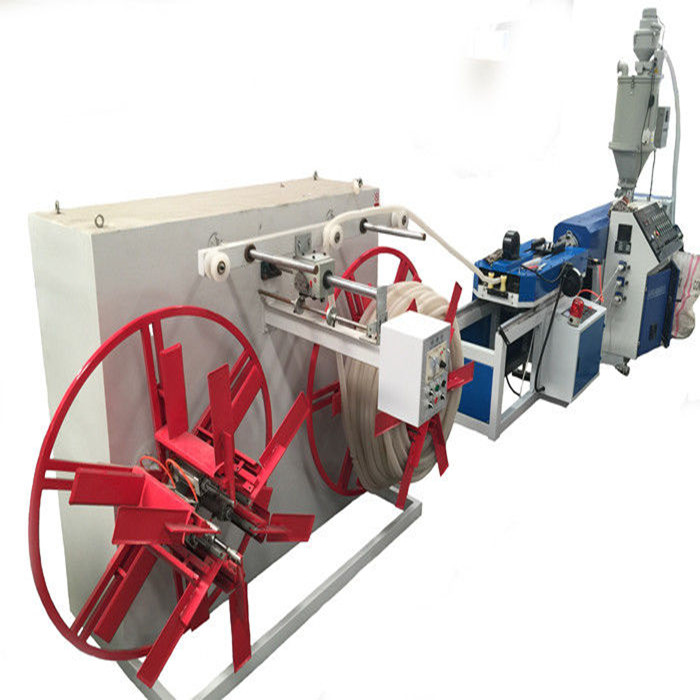 pvc pe single wall corrugated pipe production line