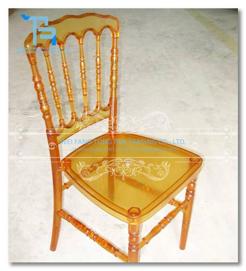 resin acrylic napoleon chair